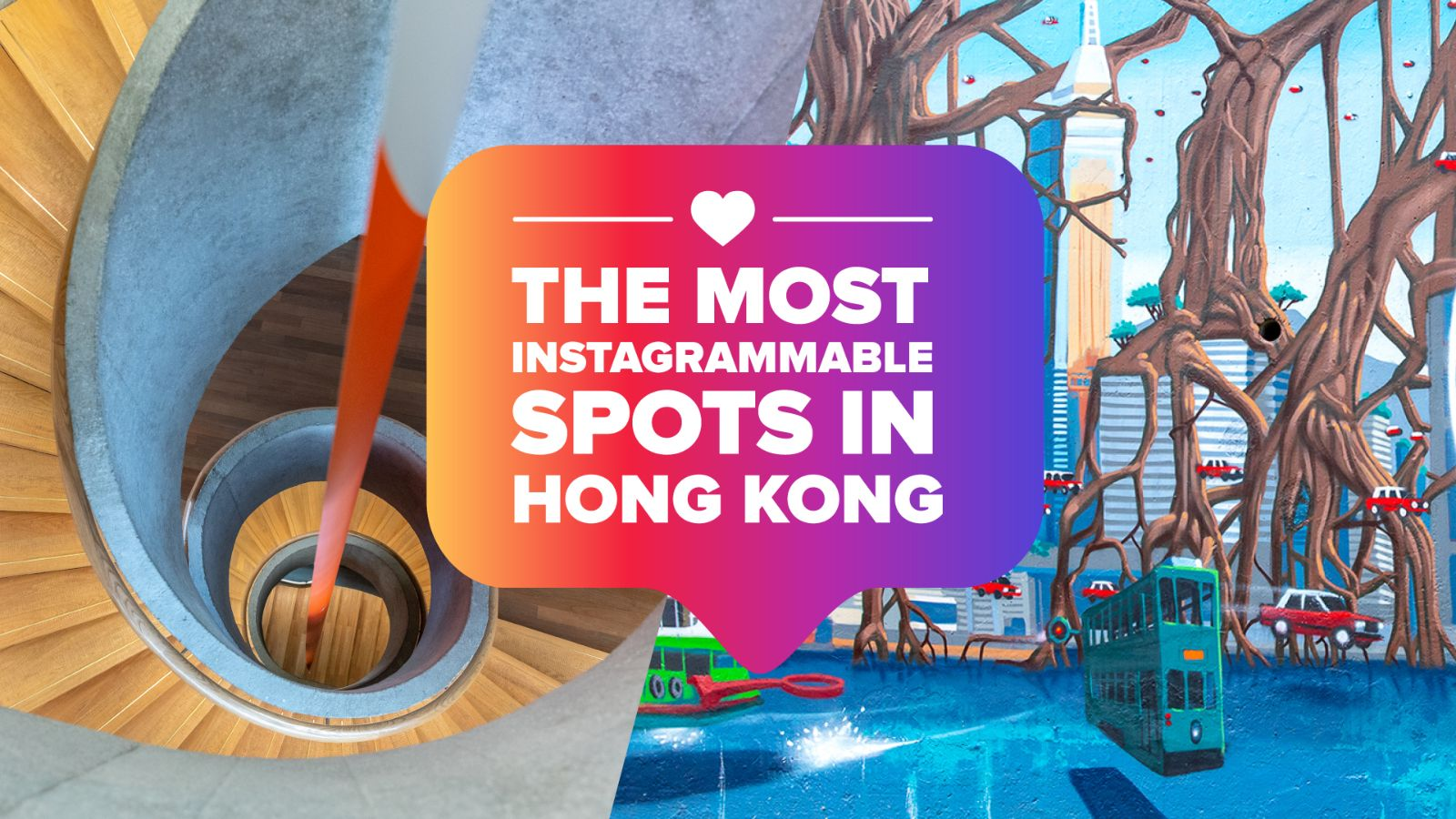 Feed your camera with 7 of the best Instagrammable spots in Hong Kong