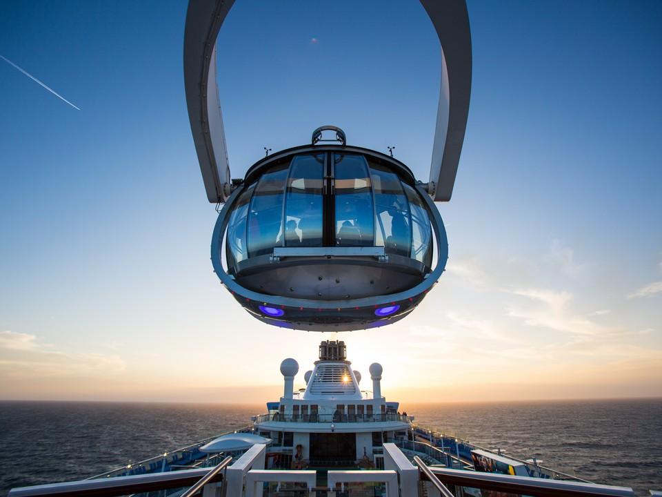皇家加勒比郵輪 海洋光譜號 北極星