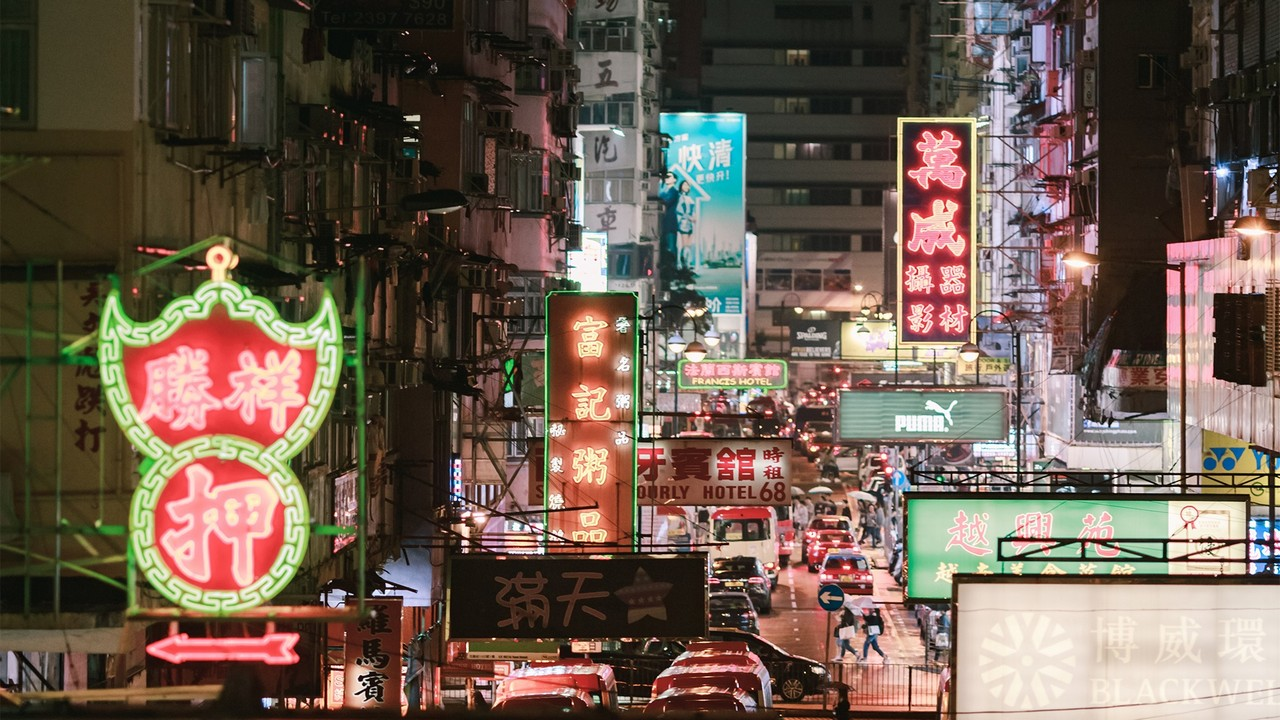 How Hong Kong's iconic neon signs are becoming an art form
