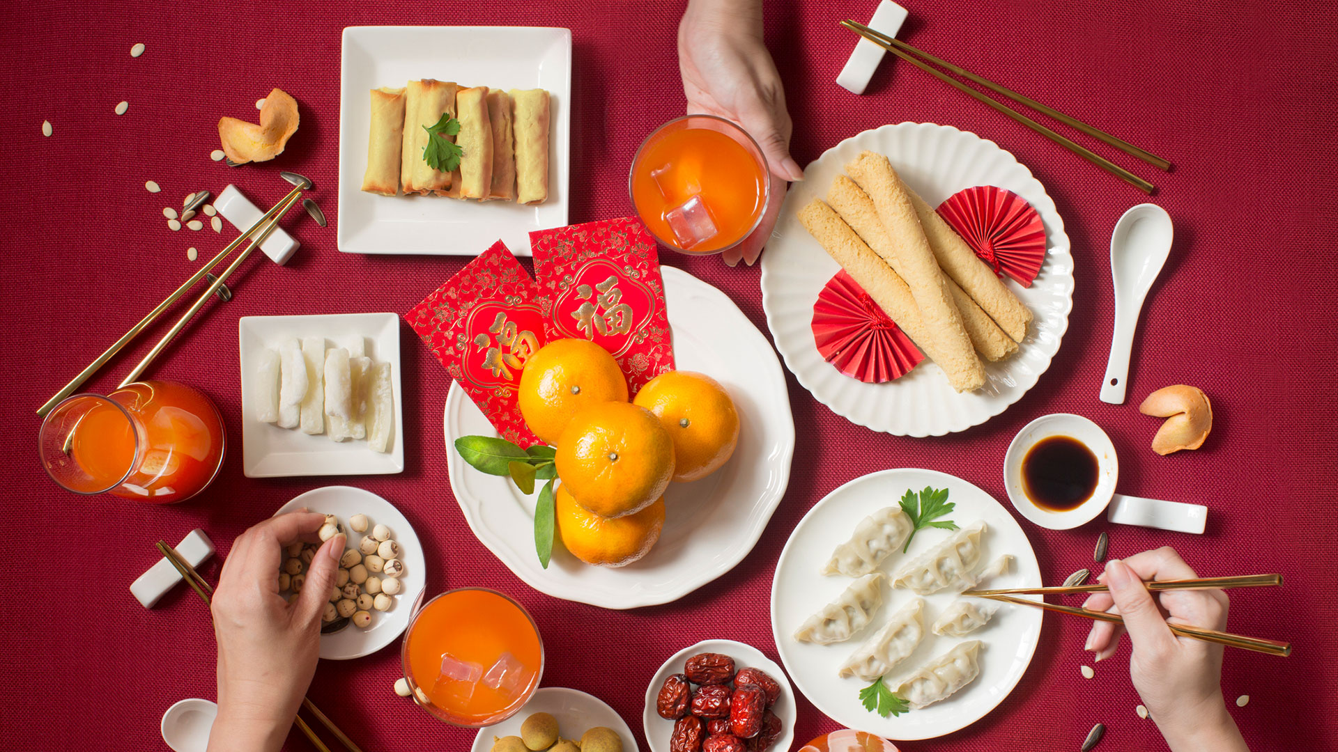 Enjoy blessings at Chinese New Year with these lucky eats