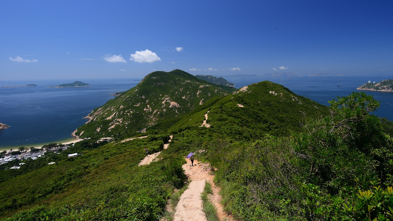 Dragon's Back: one of Hong Kong's most popular hikes