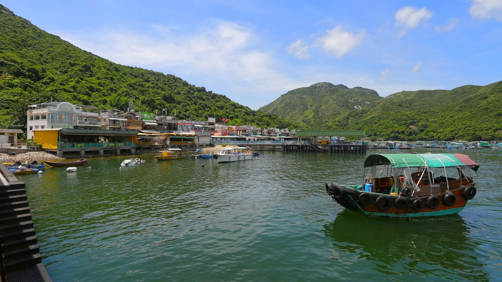 Experience fishing villages, temples, beaches, cafes and bars on a Lamma Island hike