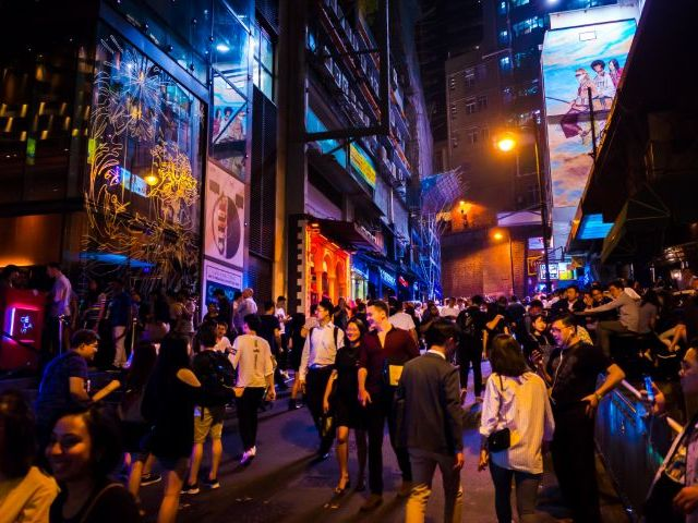 The best nightlife districts in Hong Kong