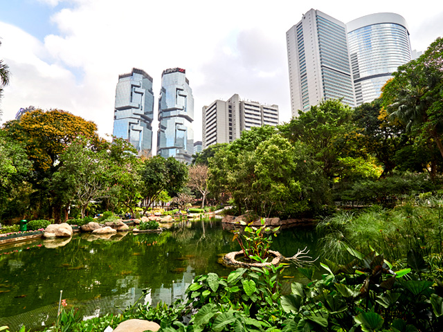 Nature in the City: Explore Hong Kong Park
