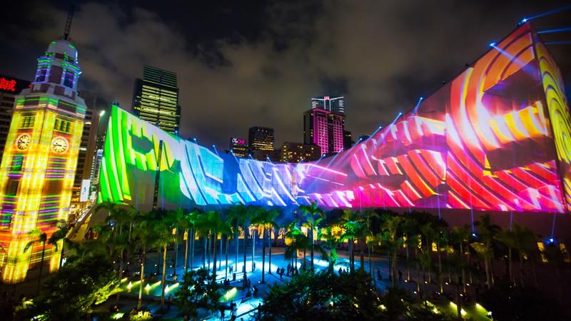 3D Light Show hong kong pulse 3d light show | hktb annual report 2014-2015